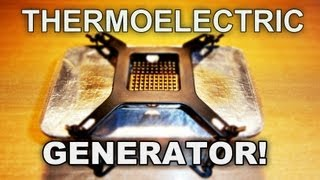 Homemade Thermoelectric Generator (TEG)