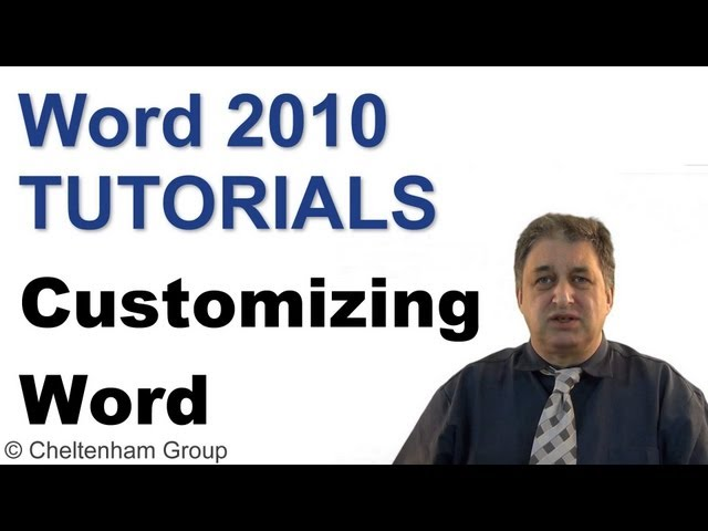 Word 2010 Tutorials | Intermediate Level Training Course