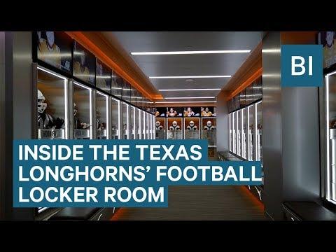 Inside The Texas Longhorns' $7 Million Locker Room