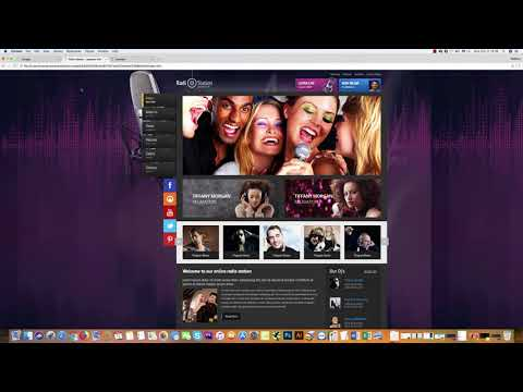 HTML5 RADIO STREAM Player