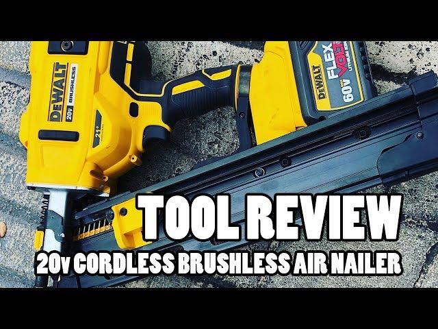 Tool Review - Dewalt 20v Cordless Brushless 21-Degree Framing Nailer
