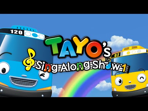 Coming soon! Tayo's Sing-along Show 1 in English!