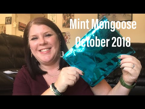 MINT MONGOOSE// OCTOBER 2018// JEWELRY SUBSCRIPTION BOX// PLUS 💵COUPON CODE💵💵
