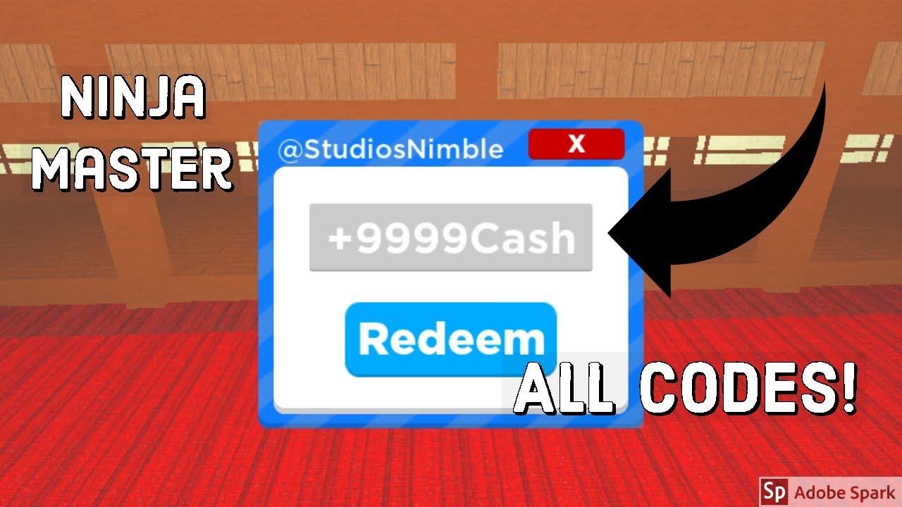 All Codes In Ninja Masters Youtube