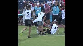 Marty Smith's amazing kickball catch | Corey LaJoie's Kickball Klassic | #Shorts