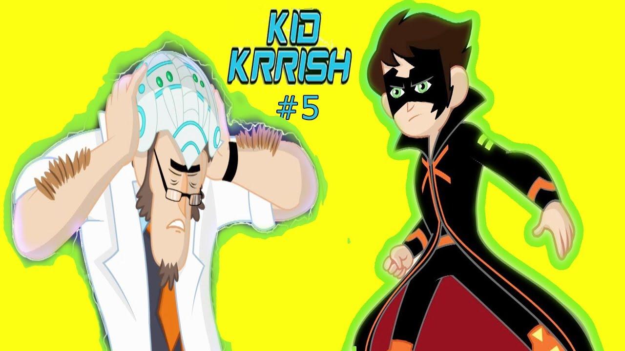 Download Kid Krrish Movie Cartoon | Cartoon Movies For Kids | Kid Krrish Save The Day 2017 | Part #5
