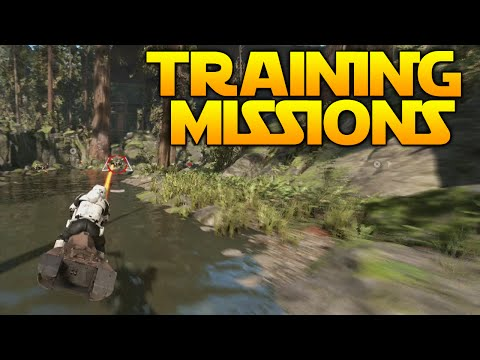 Star Wars Battlefront: ALL TRAINING MISSIONS [30 MINUTES]
