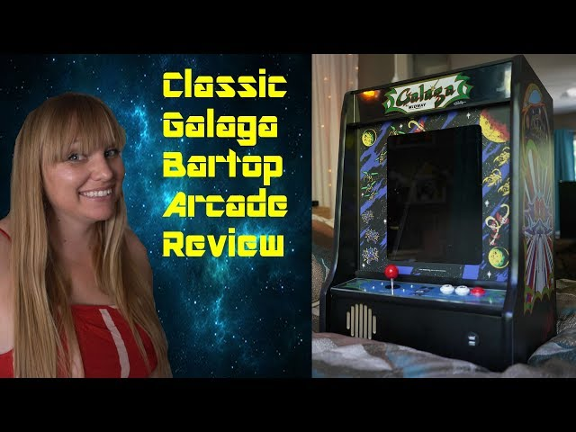 Retro Game Girl Galaga Bartop Review
