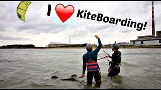 Learning to Kiteboard in 3 hours!
