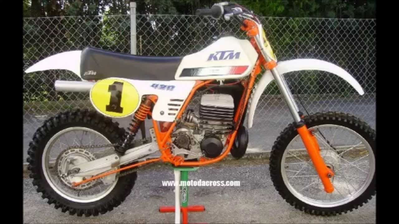 Evolution of KTM sx 360-380-495-500 from 1974 to 2001 ...