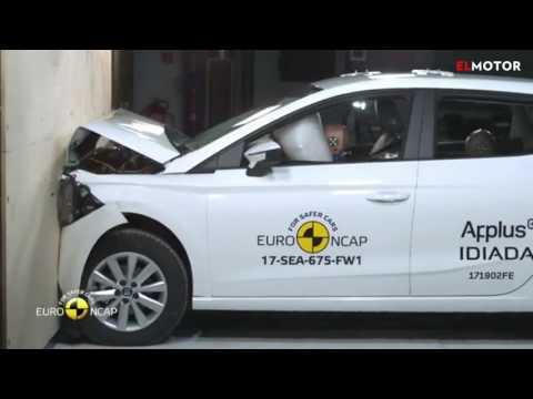 Test Euro NCAP del nuevo Seat Ibiza | EL MOTOR