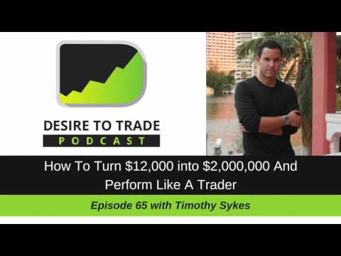 DTTP 065: How To Turn $2,000 into $2,000,000 & Perform Like A Trader – Timothy Sykes