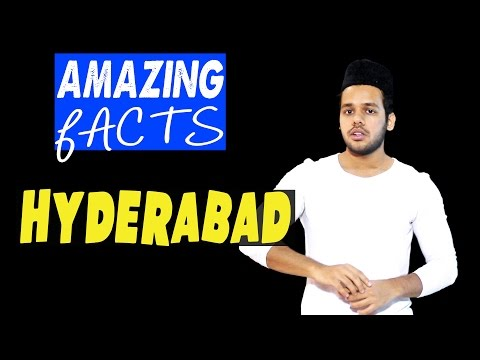 Amazing Facts: Hyderabad (City Of Pearls)!!