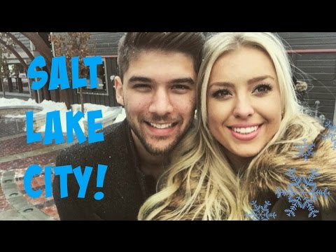 Salt Lake City VLOG! | City Creek, Park City, Car rides, Temple! | TheBlondeBeautyy