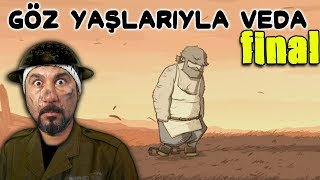 AĞLATAN FİNAL! | VALIANT HEARTS: THE GREAT WAR FİNAL!