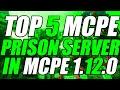 TOP 5 MINECRAFT PE PRISON SERVERS! (Best Prison Servers[MCPE v1.5.2]