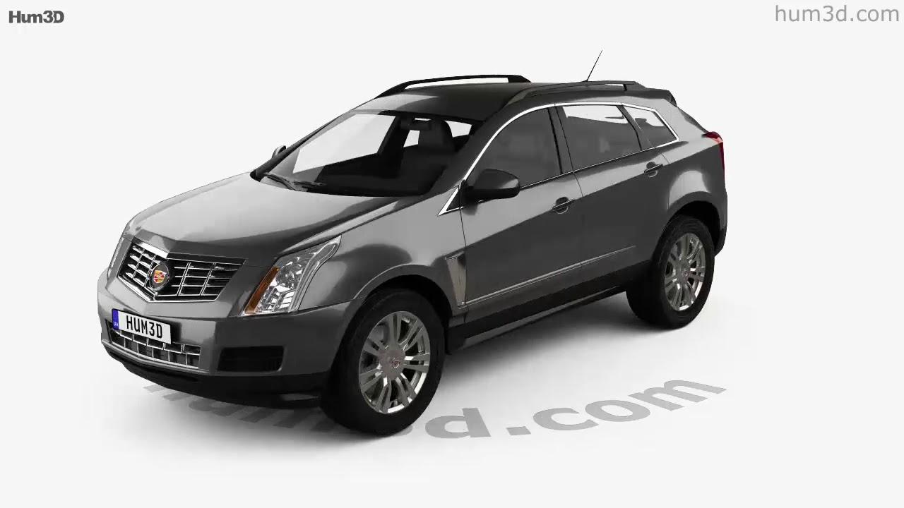 Cadillac Srx Base 2010 3d Model By Hum3d Com Youtube