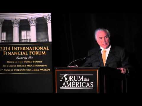 15. Keynote Address: Michel Temer