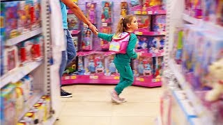 Funny Baby Doing Shopping Supermarket Pretend Play Toys For Children Funny Kids Video