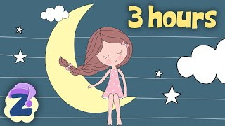 Lullabies and Soothing Melodies for a Peaceful Sleep 🌛💤3 Hours NON STOP 🍼by #ZouzouniaTV