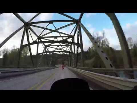 2016 Kawasaki KLR 650 Washington State Motorcycle Adventure Ride Part 8 - 4K