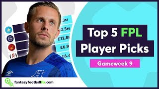 FPL Gameweek 9 | Top 5 Fix Player Picks | Fantasy Premier League 2018/19
