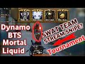 Dynamo Gaming, Soul Mortal, BTS & LiQuid Tournaments Final Video & SWAT Team Stream Snipe ??