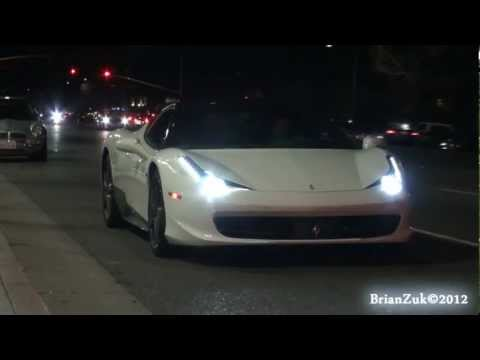 Ferrari 458 Italia Rev and Accelerate