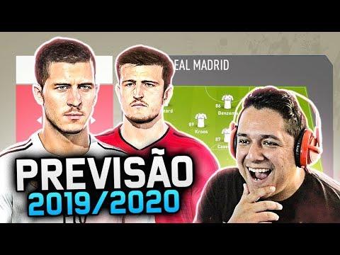 Simulei A TEMPORADA 2019/2020 Com As TRANSFERÊNCIAS ATUALIZADAS!! FIFA EXPERIMENTO!! 😱🔥