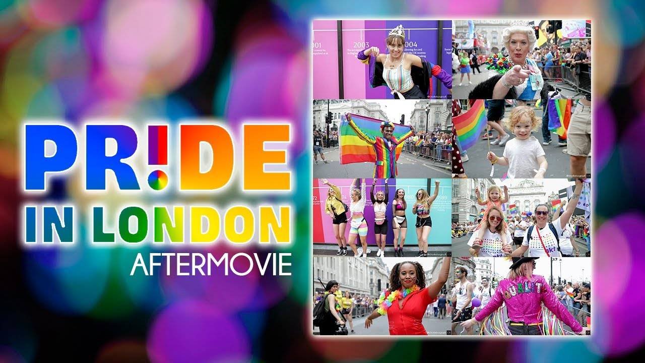 #PrideInLondon 2019 Aftermovie | Who do you think you are?