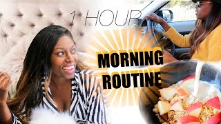 MY REALISTIC MORNING ROUTINE - ALL IN ONE HOUR!!