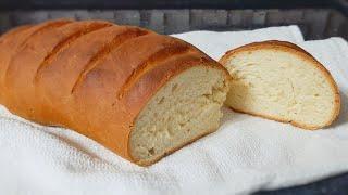 Рецепт домашнего батона I Проще простого Очень вкусный домашний хлеб