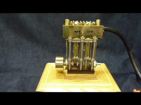 Two Cylinder Marine Steam Engine
