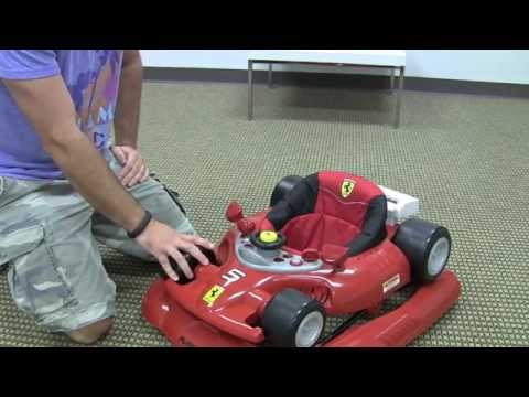 Ferrari F1 Baby Walker Review by zSeek