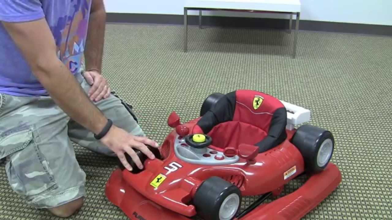 Ferrari F1 Baby Walker Review by zSeek - YouTube