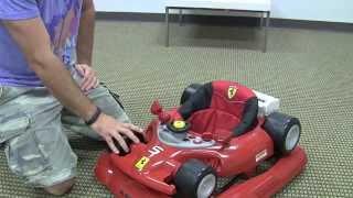 Ferrari F1 Baby Walker Review by zSeek