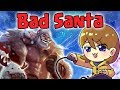 Ash_on_LoL - Tilting the jungler! ( ง‾̀◡‾́)ง Running it down bot with bad Santa!