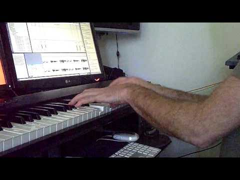 Me Messing Around With Ableton Live Lite