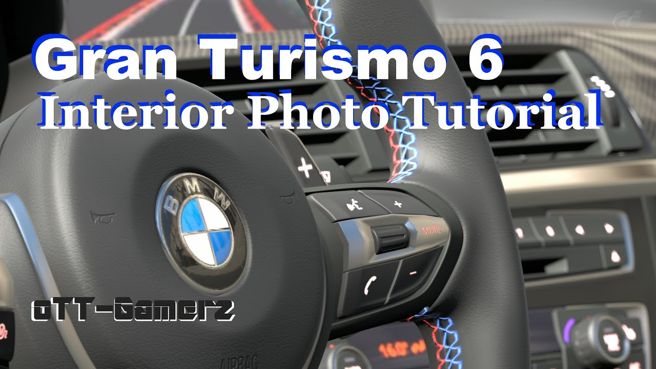 gt6 car interior photo tutorial youtube. Black Bedroom Furniture Sets. Home Design Ideas