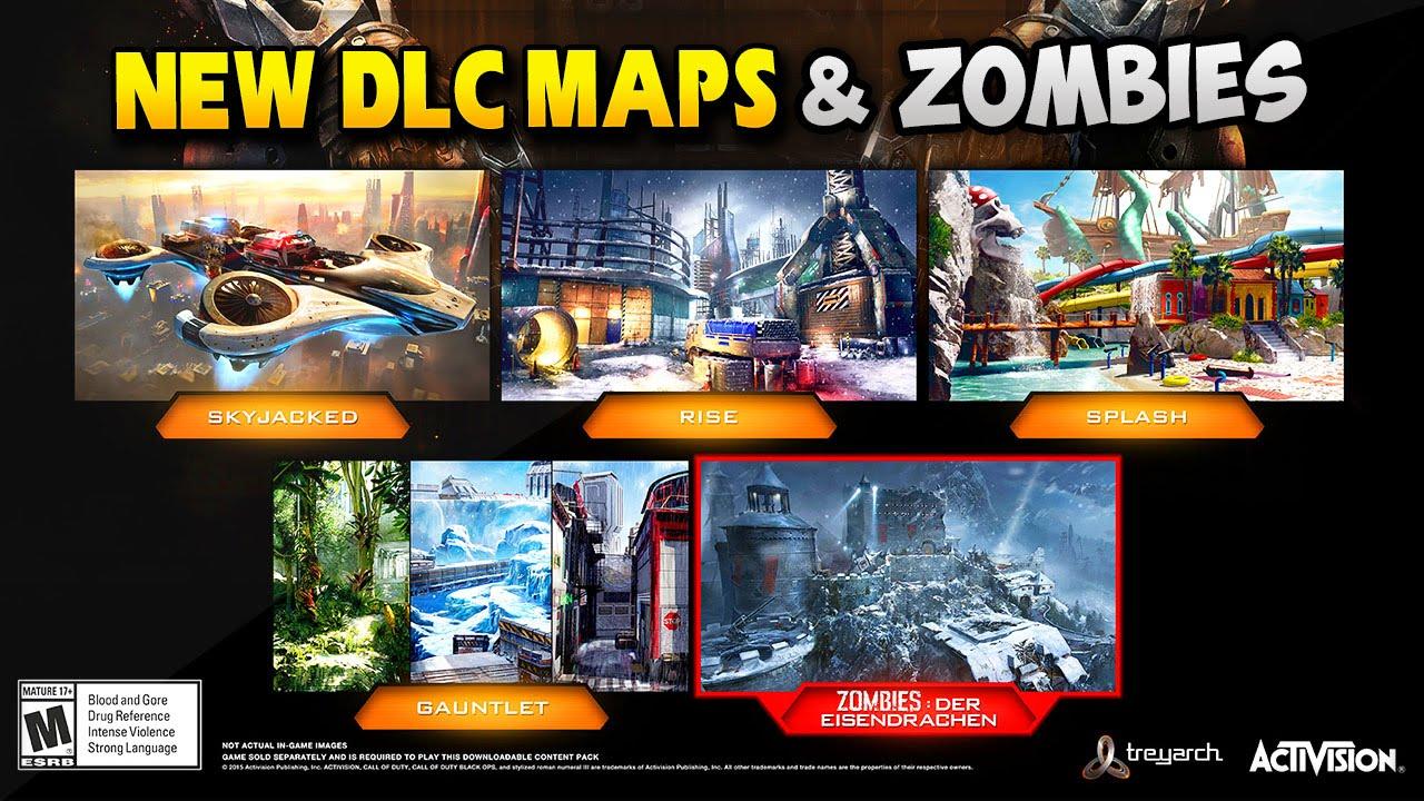 Black Ops 3 Dlc 1 Awakening 4 New Dlc Maps Zombies Dlc Map