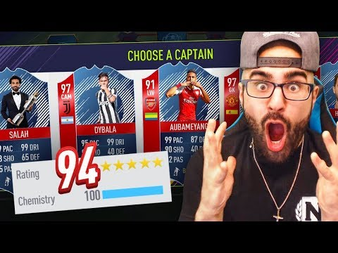 INSANE 194 DRAFT CHALLENGE!! FIFA 18 Ultimate Team Draft