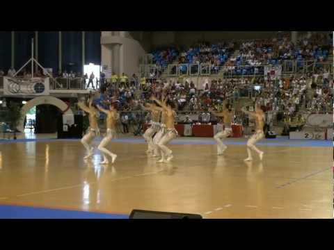 Team Japan - 2nd Place World Championship 2012 Twirling
