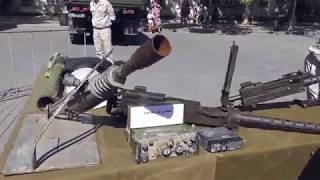 Трофеи из Сирии на площади Нахимова . Севастополь 2018
