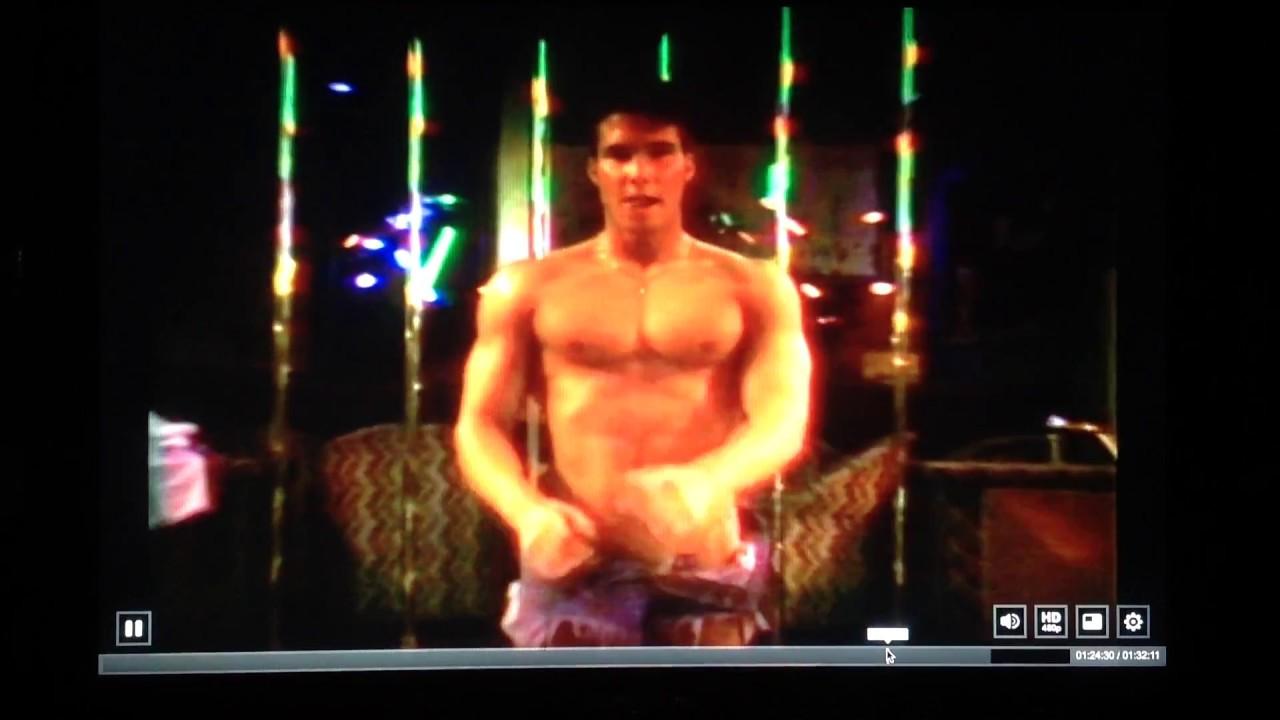 Male stripper video