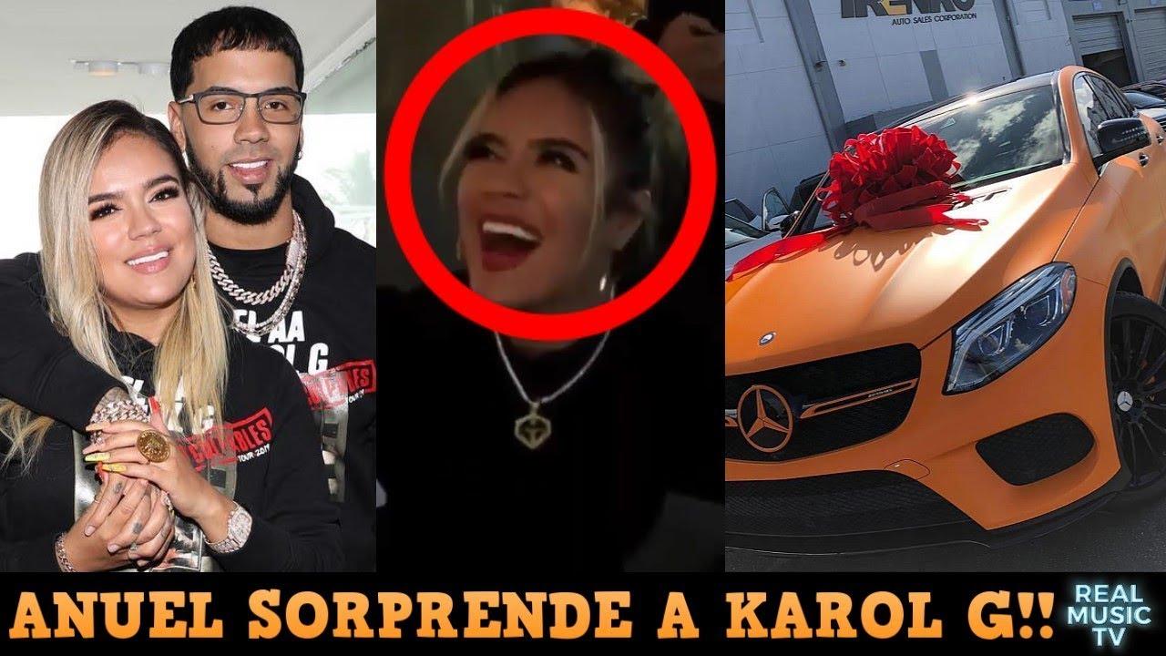 Uy Anuel Le Regala Un Carro A Karol G En Su Cumpleanos Y El Dia De