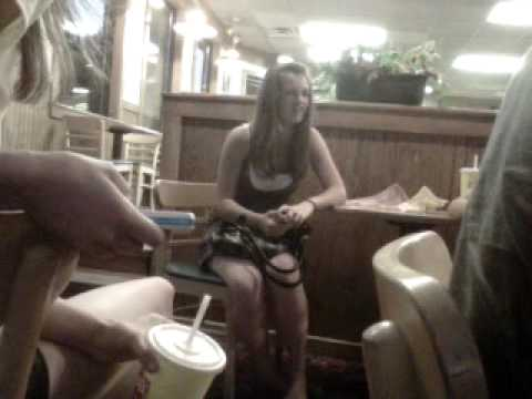 wasted chick in wendys