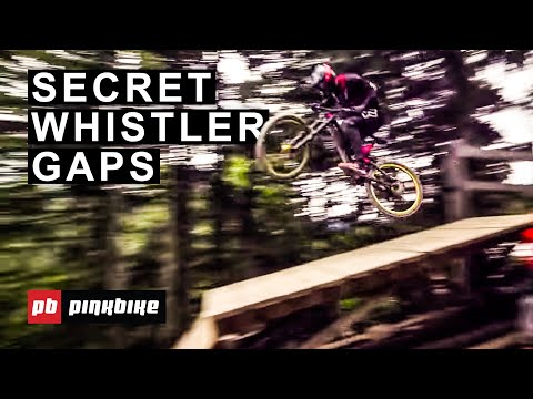Hitting Secret Gaps in Whistler Bike Park with Local Pros