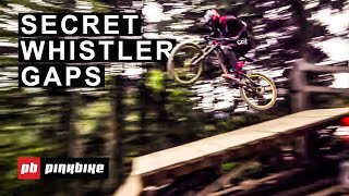 Hitting Classic Gaps with Pros in Whistler Bike Park