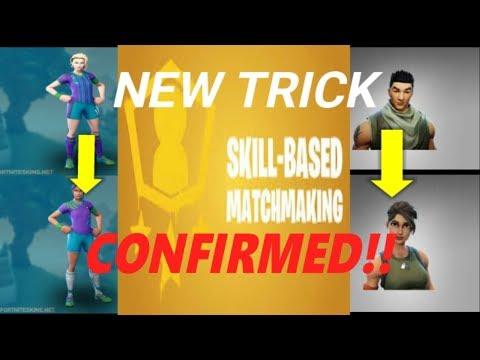 skill based matchmaking fortnite