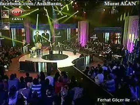 """02.01.10 SABAHAT AKKiRAZ TRT1 """"FERHAT GÖÇER iLE"""" TV PROGRAMI -4- Barak - Kinali Kar - Daglar"""